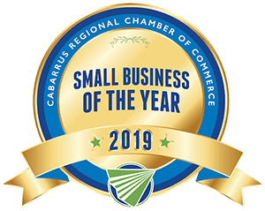 Cabarrus Regional Chamber of Commerce Small Business of the Year 2019